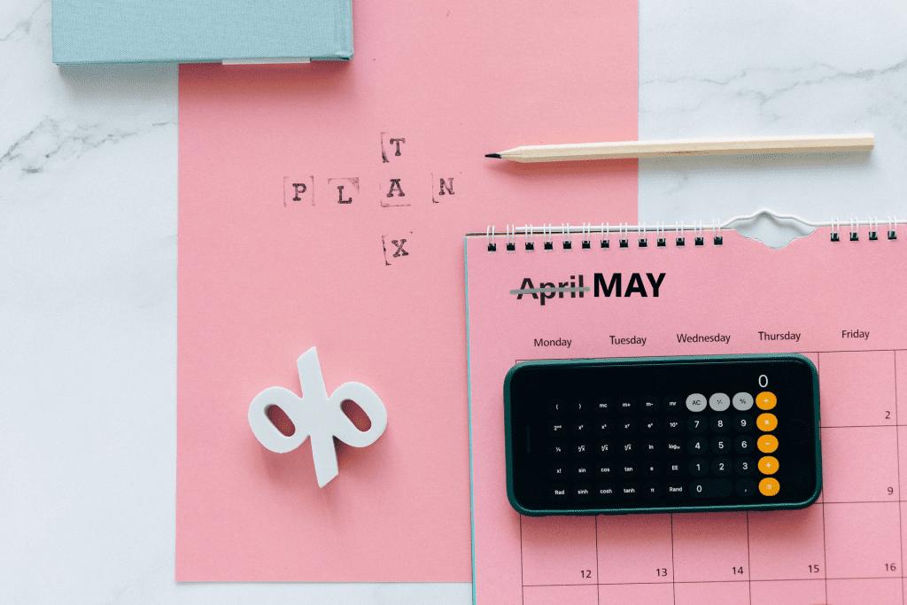 May tax calendar